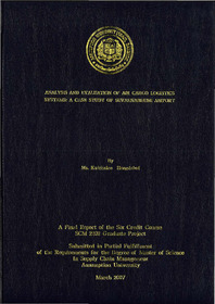 Analysis and evaluation of air cargo logistics systems : a
